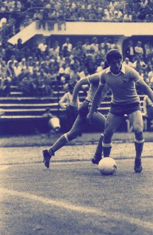 Corvinul Hunedoara in action, early 1980s