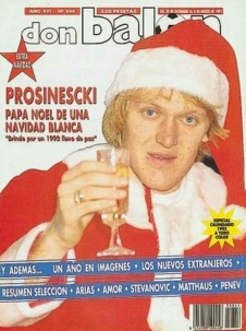 Robert Prosinecki magazine cover