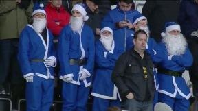 Leicester City Santa fans