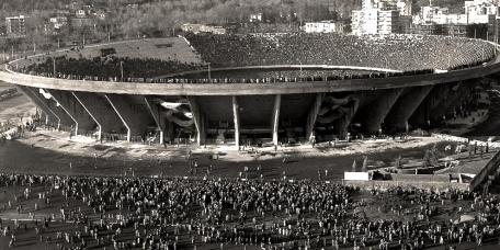 ITALY - Stadio San Paolo, Naples, Italy, circa 1977.