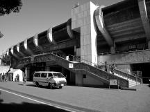 JAPAN - Shonan BMW Stadium Hiratsuka, Kanagawa. Used by Shonan Bellmare.