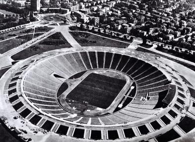 POLAND - Stadion Dziesięciolecia (or 10th Anniversary Stadium), Warsaw 1950. Abandoned 1983 and demolished 2008