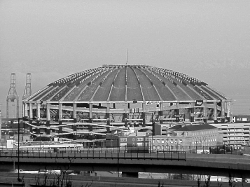 USA - Kingdome, Seattle. Former home of Seattle Sounders.