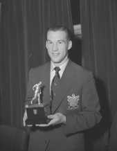 Footballer of the Year 1953, Nat Lofthouse, Bolton