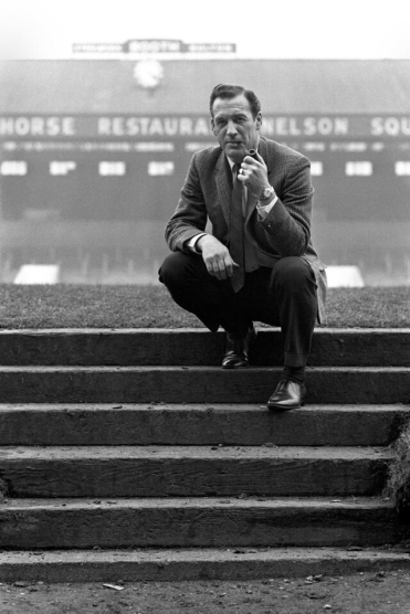 Nat Lofthouse at Burnden Park, 1970