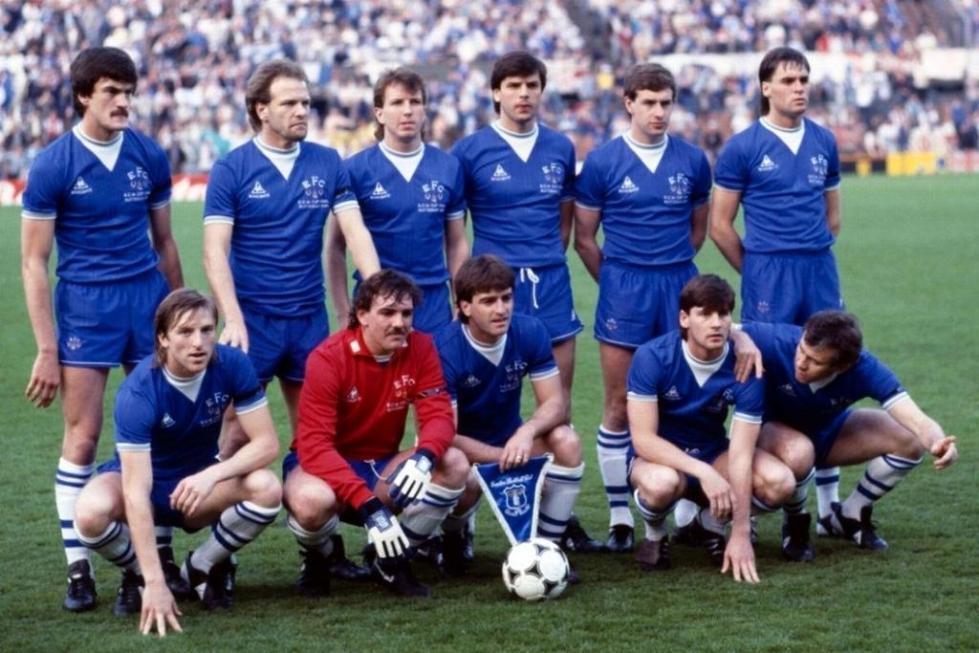 Everton v Rapid Vienna, CWC Final 1985