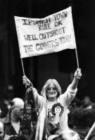 1978 - Ipswich Town fan banner at FA Cup Final v Arsenal
