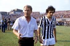 Giovanni Trapattoni & Michel Platini
