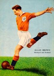 Allan Brown, Blackpool 1954