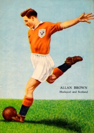 Allan Brown, Blackpool 1954
