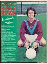 Brian Flynn, Burnley 1976