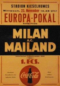 Milan v Saarbrucken programme