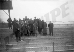 Red Star fans on the terraces, 1938
