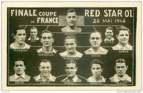 Red Star Olympique 1946 Coupe de France Final