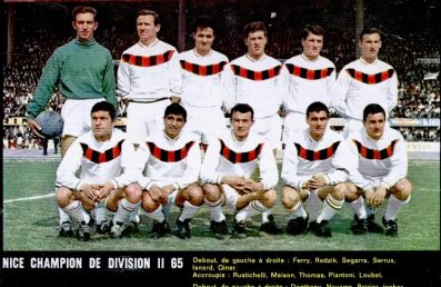 OGC Nice 1965