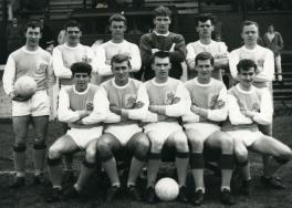 Albion Rovers Team photograph. Season 1964:5