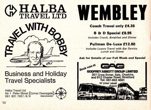 Bobby Charlton Travel