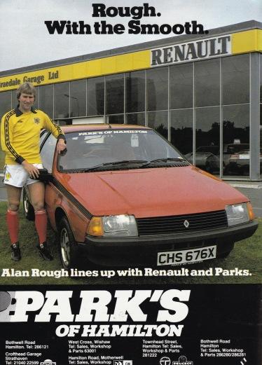 Alan Rough, Renault