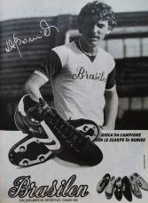 Boniek, Brazilian football boots