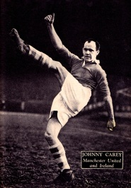 Johhny Carey, Man United 1951