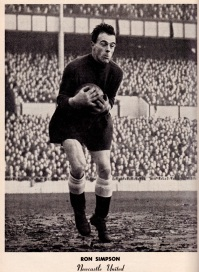 Ronnie Simpson, Newcastle Utd 1951