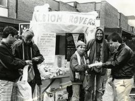 Selling Albion Rovers - Coatbridge Fair Day