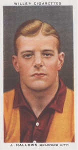 Bradford City's J.Hallows