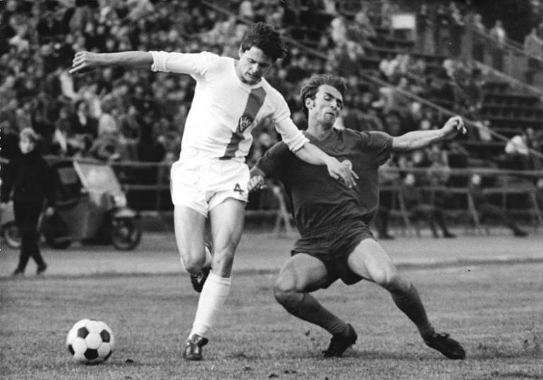 Lutz Eigendorf (left) BFC Dynamo
