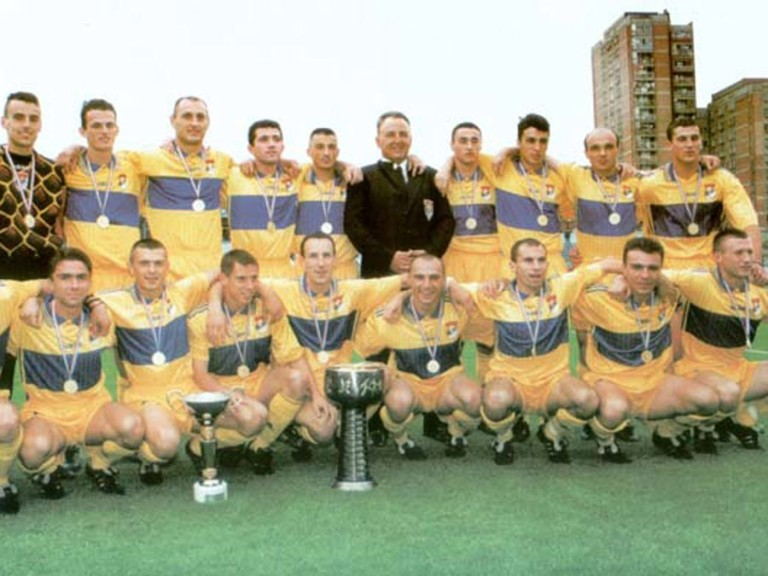 FK Obilic, champions 1998