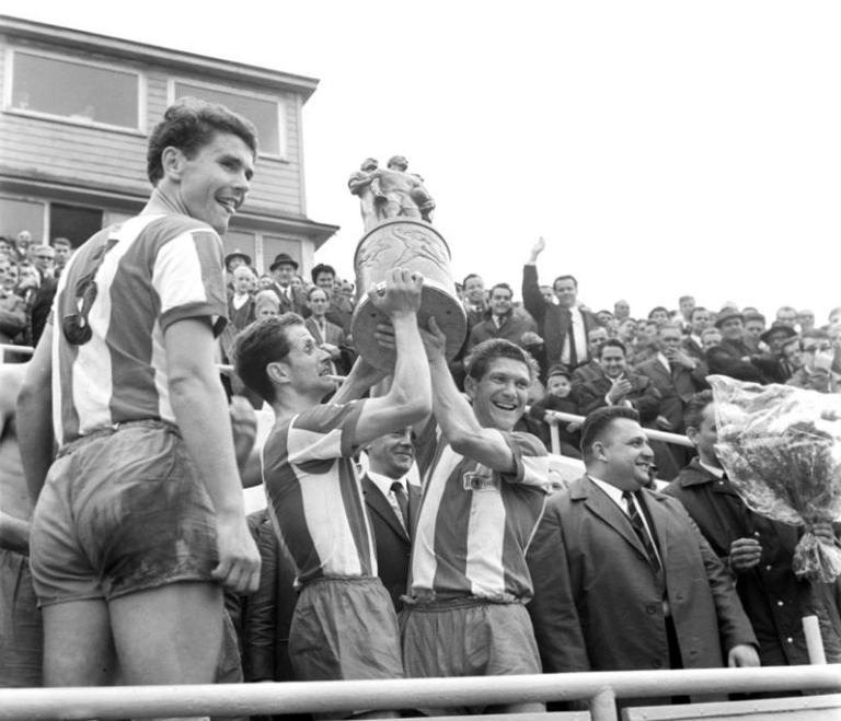 Union Berlin win the 1968 FDGB Pokal in 1968