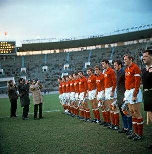 Soviet Union line-up v Turkey, 1966