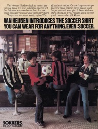 Van Heusen soccer shirts