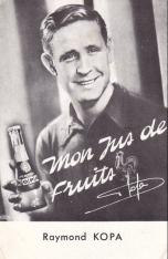 Raymond Kopa, fruit juice
