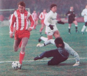 Bora Cvetkovic beats Paco Buyo, Red Star v Real Madrid 1987
