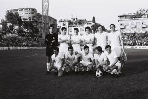 Real Madrid in Split, 1971