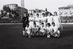 Real Madrid in Split, 1971
