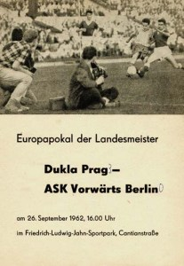 Vorwarts v Dukla Prague 1962-63