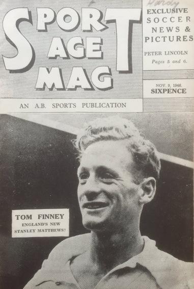 Tom Finney, Sport Age Mag