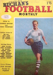 Tom Finney,, Charles Buchan Monthly