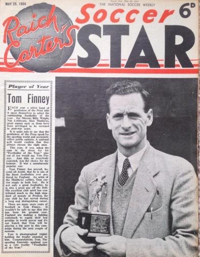 Tom Finney, Soccer Star
