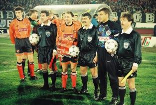 Partizan v Dundee Utd pre-match photo