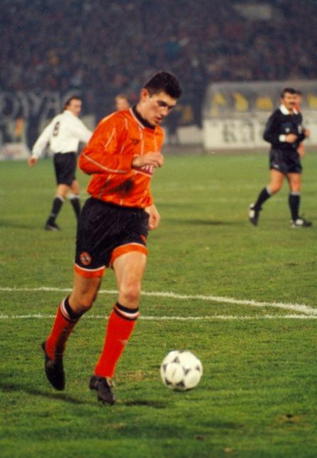 Partizan v Dundee Utd, 1994. Gordan Petric