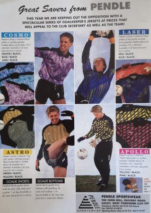 Goalkeeper - 1992